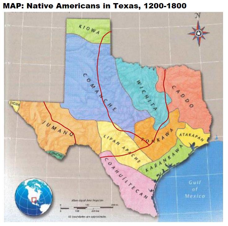 Map Of Texas In 1800.Texas History Grade 7 Mere History